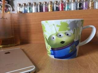 可愛Disney/Pixar三眼仔水杯/玻璃杯