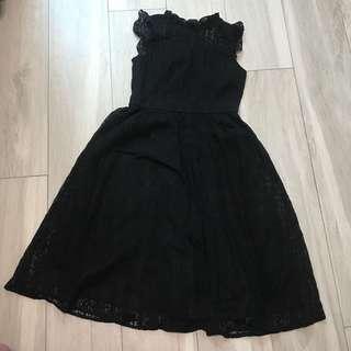 🈹黑色lace 連身裙🈹