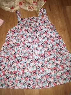 Seed baby cotton dress size 1 EUC