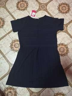 BNWT Patch Dress - Navy Blue