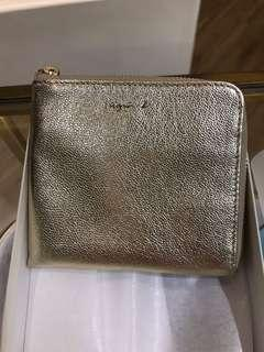 Brand New Agnes b. zip Coin case small wallet