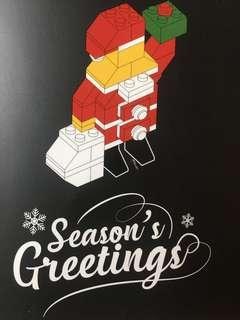 Santa Claus Inspired LEGO Bricks