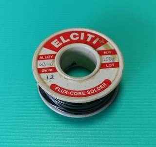 Elciti solder alloy 60/40, 250g焊卷