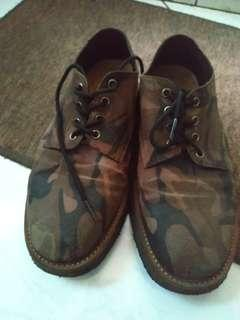 WALFORD WSCS LEATHER SHOES CAMO