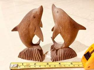 Dolphin 🐬 made of wood!