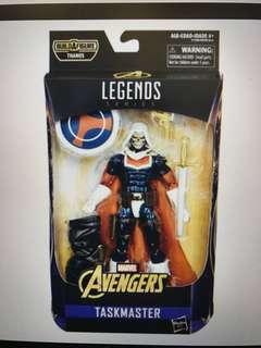 Taskmaster marvel legends without baf