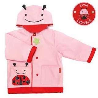 skip hop zoo raincoat  L