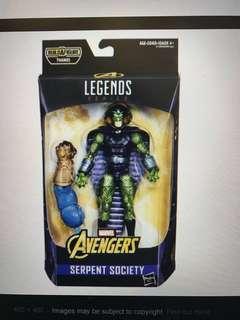 Serpent society marvel legend without baf