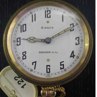 Tiffany 8 days pocket watch