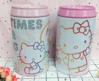Kitty文字風可樂罐存錢桶