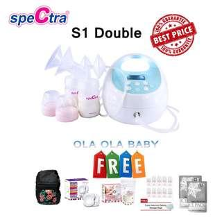 Spectra S1 Double Breastpump Combo Package