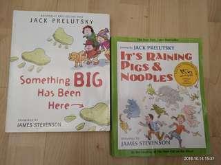2 Jack Prelutsky poem books