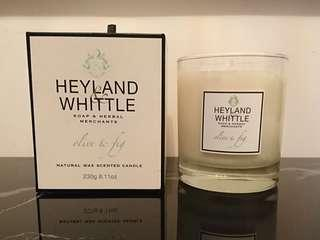 Heyland & Whittle Scented Candle香薰蠟燭 - Olive & fig