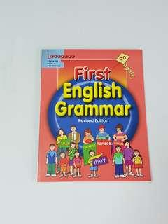 First English Grammar, Children's Educational Book