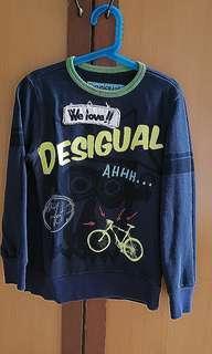 Desigual Boy Sweatshirt Sweaters Sz 7/8