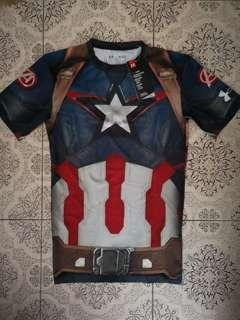 Under Armour - Captain America Compression Shirt