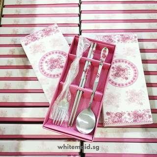 3 piece Cutlery Favor Set