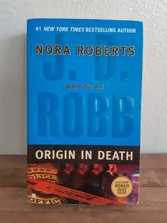 Origin in Death by JD Robb (Nora Roberts)