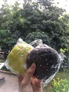 melon bun // carebear // rice cracker squishy