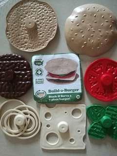 Stackable Build-a-Burger #TOYS50