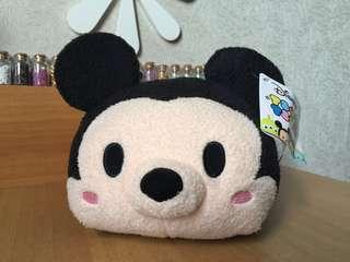 全新Disney Tsumtsum 米奇沙沙抱枕/腰枕
