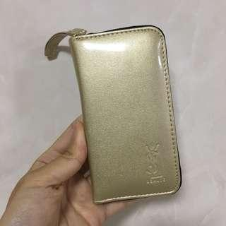 YSL 金色鏡盒 唇膏盒 鏡