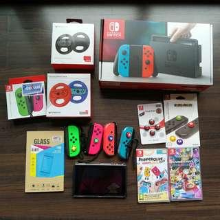 Switch Local Console with warranty and extra stuff (from 26 Jul 2018)