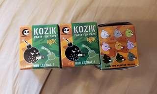 Kozik figure 食煙炸彈 模型
