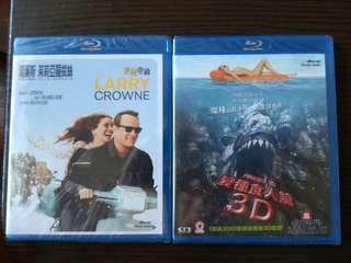 Blu-ray Movie Package - $75 for 2 (有中文字幕)