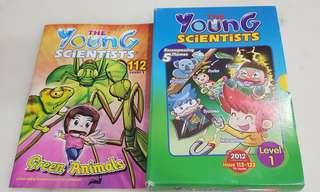 Young scientist level 1 (complete set of 10) + 1 free issue