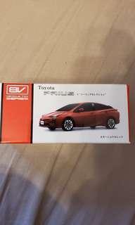 Toyota prius pullback car model 車模型