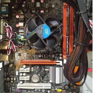 ECS H55H-M Motherboard