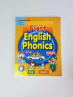 First English Phonics (2 audio CDs included), Children's Educational Book
