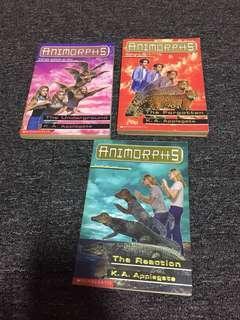 Animorphs by K.A Applegate scholastic