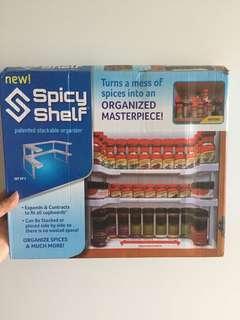 Spicy shelf stackable organiser 善存 廚房化妝品個人用品儲存收納架