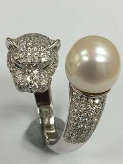 天然淡水珍珠戒指