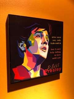 🚚 Elvis Presley : Pop Art Poster Frame