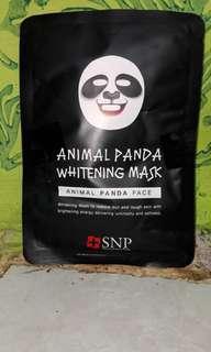 Masker animal panda