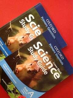 [NEW] Lower Block Science Study Guide Book A/Book B Primary 3 & 4
