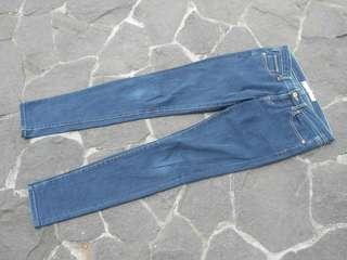 Celana jeans uniqlo navy 1