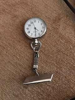 Nurse watch (with pin for name angraving
