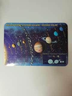Solar System Placemat, Children's Education