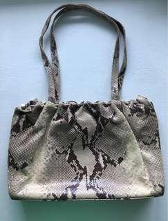 Vintage Kurt Geiger London Snakeskin Bag
