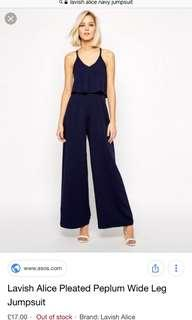 BRAND NEW LAVISH ALICE JUMPSUIT