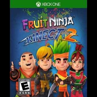 Microsoft Xbox Kinect Fruits Ninja 2 Digital Download Code