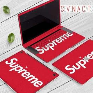 Supreme Macbook Decal
