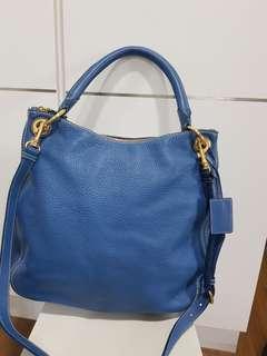 Lightly Used Carshoe brand blue bag
