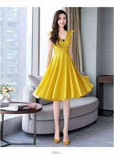 🌼Resell Price 420 💫Dress 💫Freesize Small up to Semi large 💫2 color  💫cotton *cc