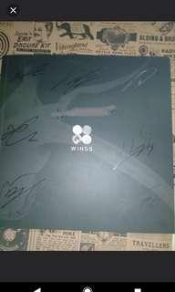 bts signed album