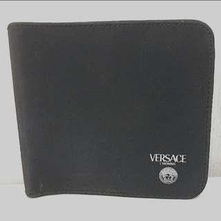 VERSACE L'HOMME 旅行小袋   VERSACE L'HOMME MAKEUP COSMETIC BAG CASE TOILETRIES POUCH BLACK ZIPPER CLOSURE